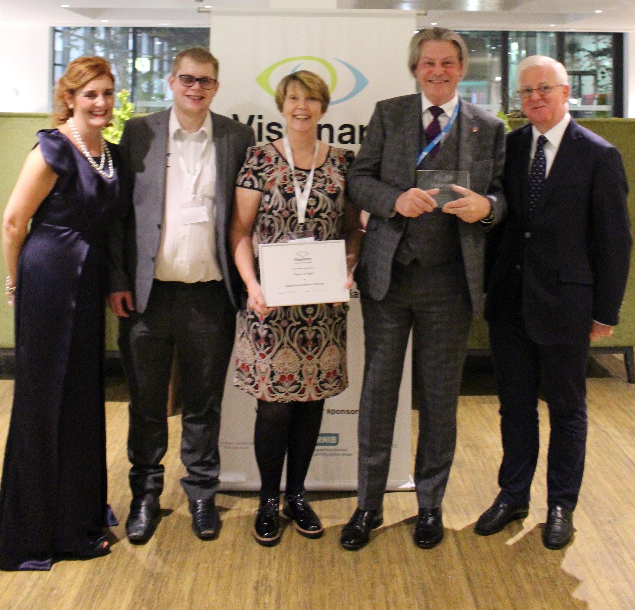 Visionary Award group photo