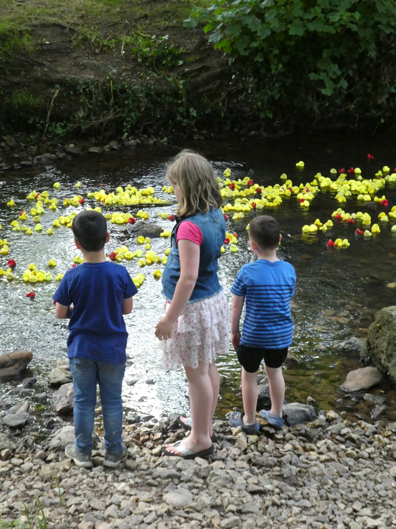 Fundraising events - duck race