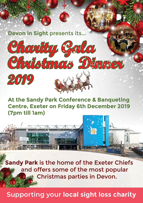 Website Christmas Gala Dinner Flyer A5 FOR PRINTER