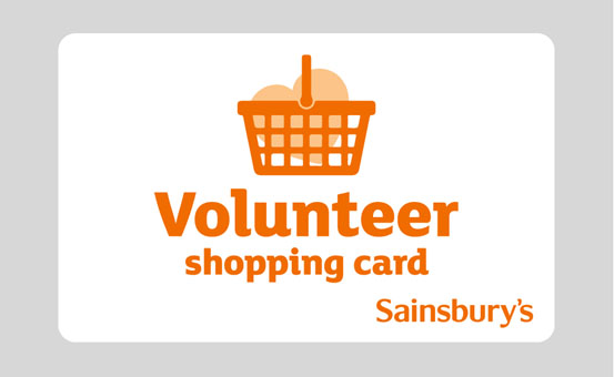 Image of Sainsbury Volenteer Card