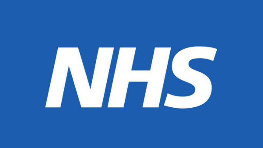 An image of the blue and white NHS logo